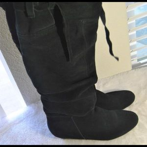 Nine West Tall Suede Boots